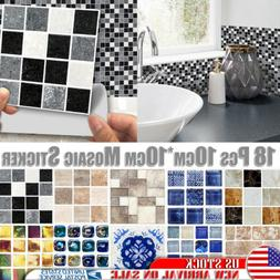 3d waterproof bathroom kitchen tile mosaic sticker