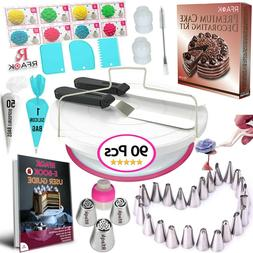 73 Kitchen Utensils & Gadgets Pcs Cake Decorating Supplies F