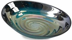 Imax Corp 83101 Moody Swirl Glass Bowl