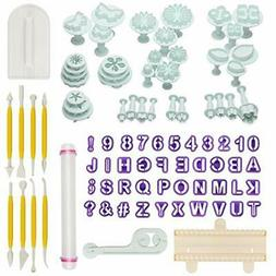 88pcs Kitchen Utensils & Gadgets Fondant Sugarcraft Cake Dec