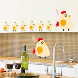 Cute Chicken Chick Wall Stickers Removable DIY Home Nursery