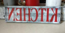 KITCHEN farmhouse wood sign kitchen farm house wood sign woo