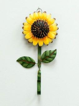New Metal Sunflower Home Hook Great Home&Kitchen Keys,Coats,