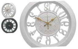 Adalene Wall Clocks Battery Operated Non Ticking Kitchen Wal