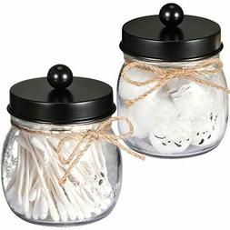 Sheechung Apothecary Jars Set Mason Jar Decor Bathroom Vanit