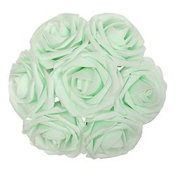 Jing-Rise Artificial Flowers Fake Roses 50PCS Artificial Ros