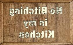 Signs, cooking, eating, meals, wall decor, rustic, wood