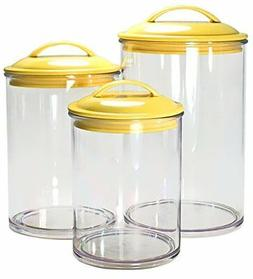Calypso Basics by Reston Lloyd Acrylic Storage Canisters, Se