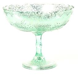 Koyal Wholesale Compote Bowl Centerpiece Mercury Glass Antiq
