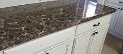 Countertop Paint? No! Peel and Stick Granite NO PAINT Counte