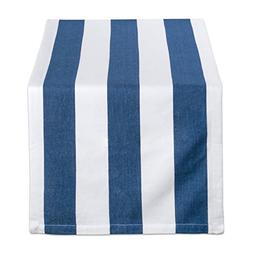 DII Navy & White/18x72 Table Runner, 18x72 White