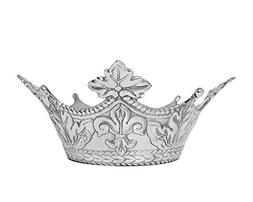 Arthur Court Designs Aluminum Mardi Gras Crown Serving Bowl