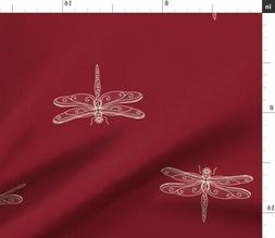 Dragonflies Insects Nature Bugs Kitchen Decor Fabric Printed