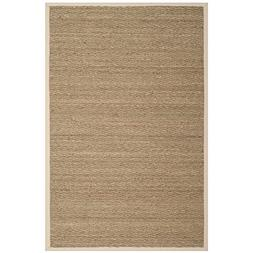 Safavieh Natural Fiber Collection NF115J Herringbone Natural