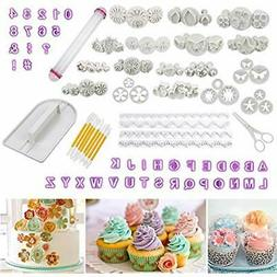 Fondant Tools Cadrim 109pcs Fondant Cutter Cake Decorating K
