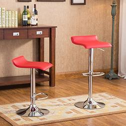 Roundhill Furniture Contemporary Chrome Air Lift Adjustable