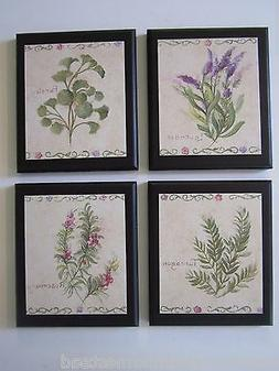 Herbs country kitchen Wall Decor Plaques lavender rosemary p