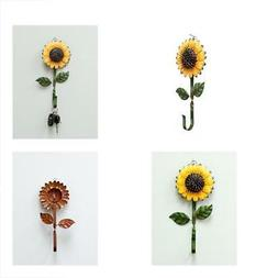 Key Hooks New Metal Sunflower Home Great Home&Kitchen Keys,C