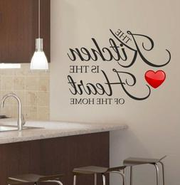 Kitchen Home Decor Wall Sticker Decal Bedroom Removable Viny