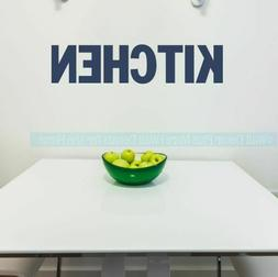 Kitchen Simple Word Wall Art Sticker Vinyl Decal Block Lette