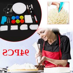 Kitchen Utensils & Gadgets 94 Pcs Cake Decorating Supplies W