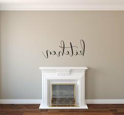Kitchen - Vinyl Decal Wall Decor Sticker - Home Family Kitch