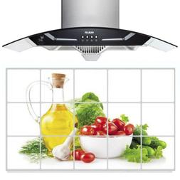 kitchen wall decal oil proof removable wall