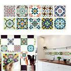 10 Pcs Colored Pattern Removable Wall Stickers Bedroom Kitch