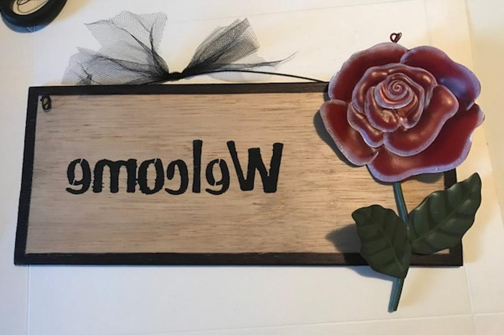 Wine Wood Decorative Country Paddle cafe wall Decor sign