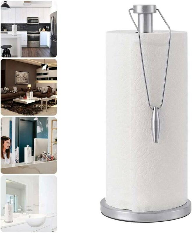 13 stand up paper towel holder stainless