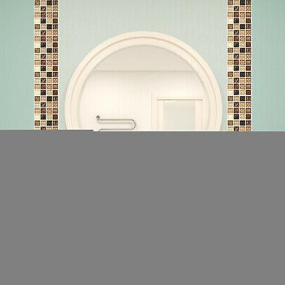 18X Mosaic Sticker Peel And Stick Wall Tile Home