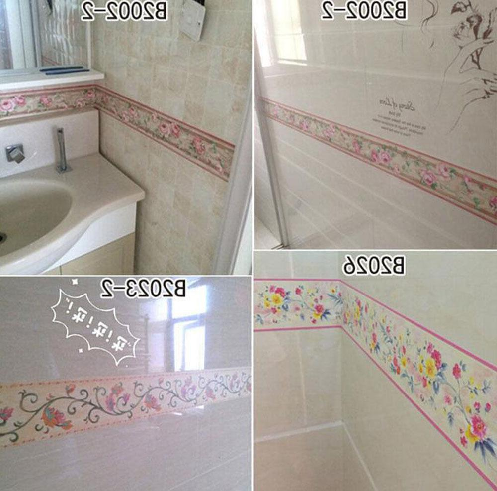 1M PVC Kitchen Tile Paper Wall 18