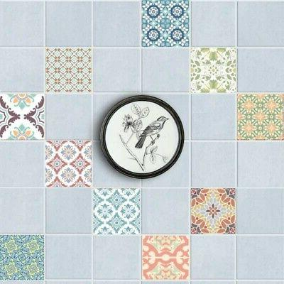 20Pcs Floor Stickers Mosaic Vinyl Decor