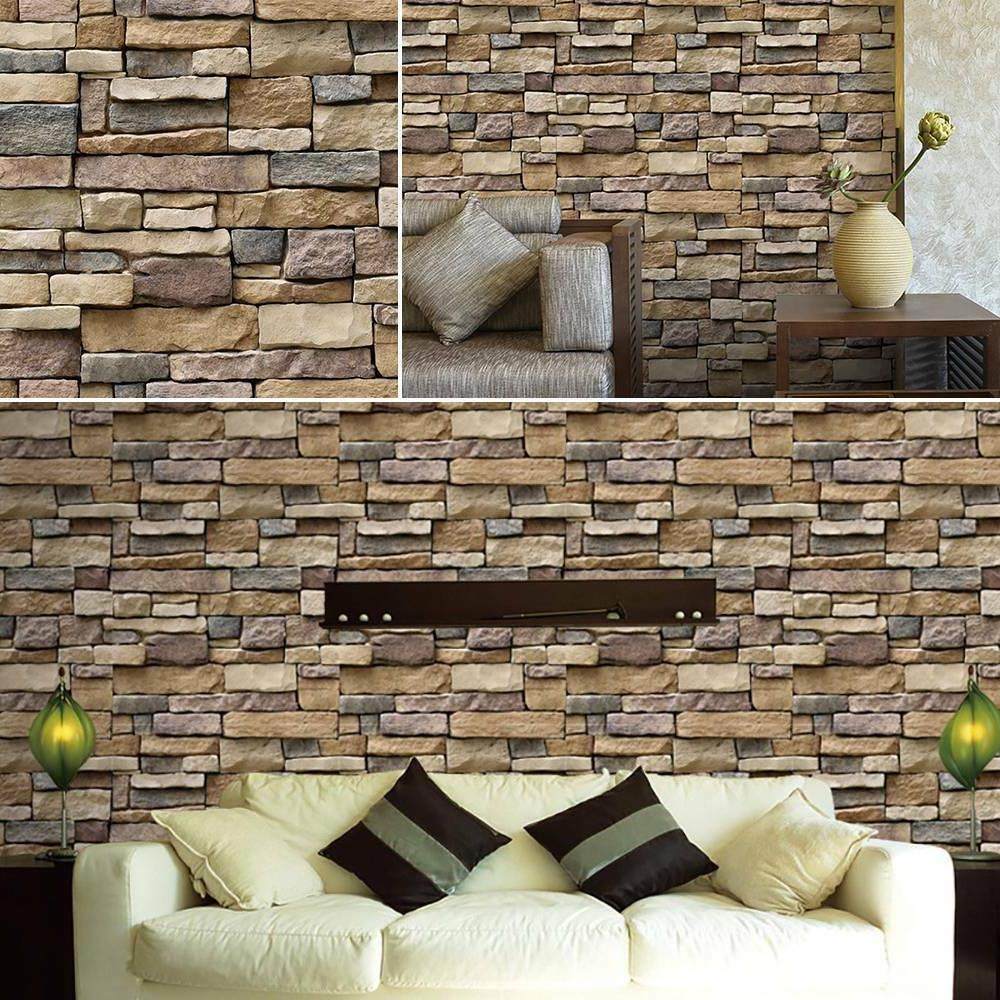 3D Wall Stone Room
