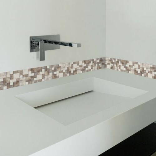 3D Waterproof Tile Mosaic Wall Decor