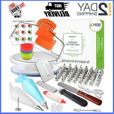 90 Kitchen Utensils Gadgets Pcs Cake Decorating Supplies Wit