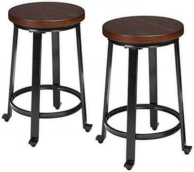 Ashley Furniture Signature Design - Challiman Bar Stool - Co