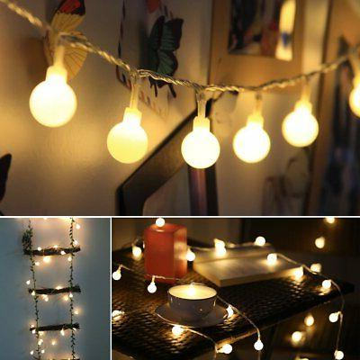 Globe String LED Decorative Outdoor, Plug in