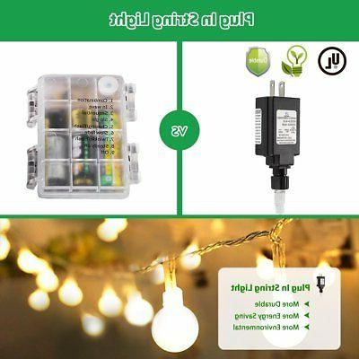 Globe String LED Outdoor, in