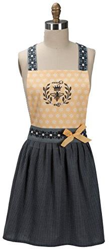 Kay Dee Designs Queen Bee Embroidered Hostess Apron