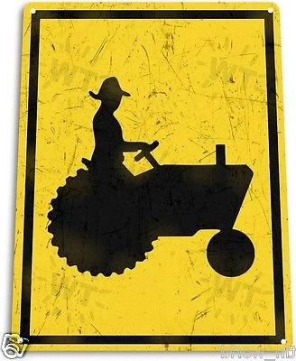"""TIN SIGN Crossing"""" Metal Cottage Store A713"""