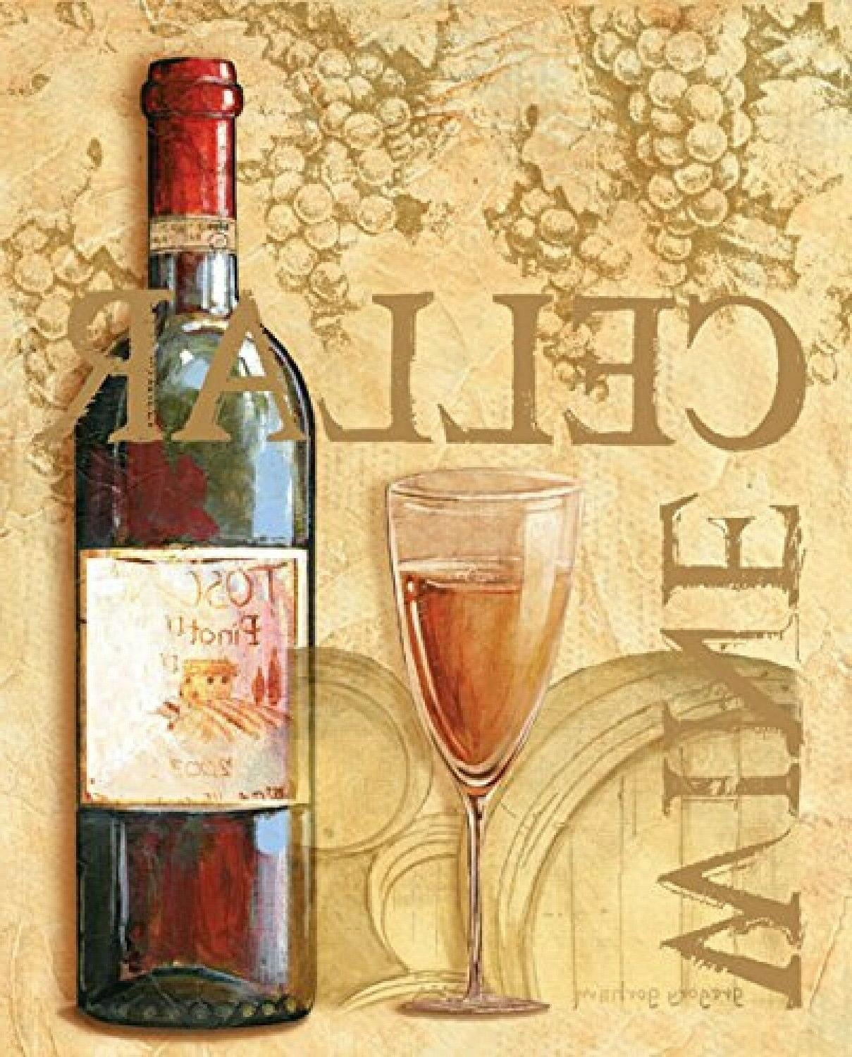 Wine Grape Tuscany Posters Wall New
