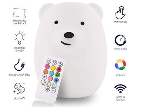 LumiPets Cute Touch Remote - Infant or Toddler Color Bright Lamp