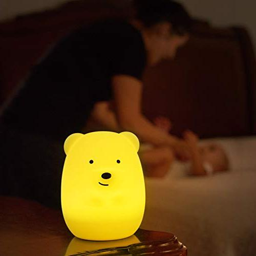 Touch and Remote - Portable Infant or Color Changing Nightlight Lamp