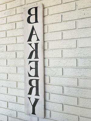 Bakery Wood Sign, Kitchen Home Bakery Sign, Rustic Wood Sign, Home Sign