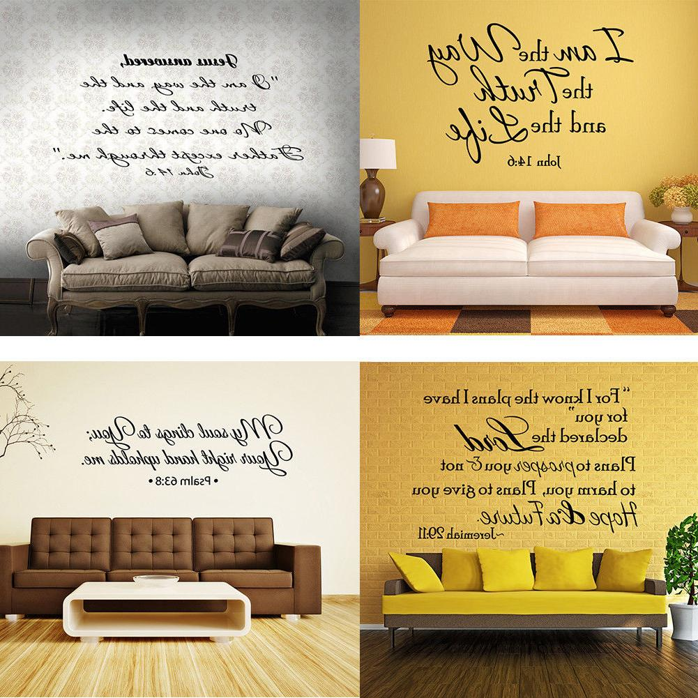 bible verse wall decals christian quote vinyl