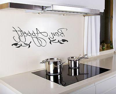 bon appetit wall decal removable kitchen sticker