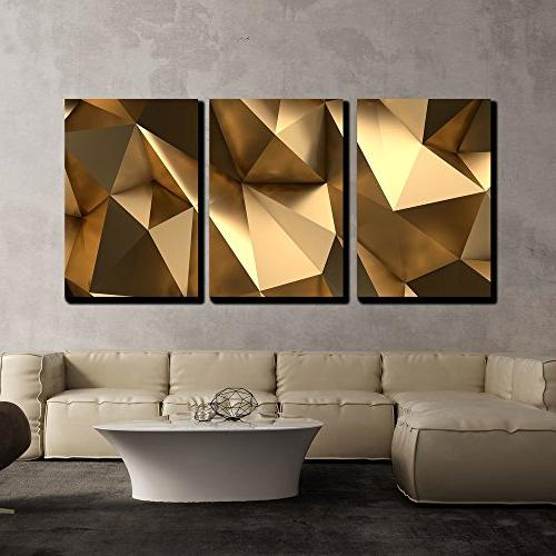 canvas wall abstract polygonal background