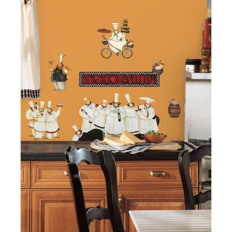chefs peel stick wall decal