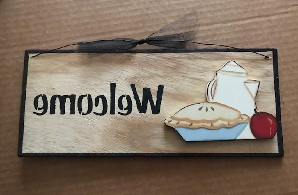 COFFEE Wood Kitchen Wall Decor Sign 6x4""